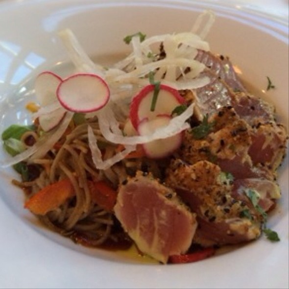 Seared Ahi With Soba Noodles - Scott's Seafood Grill & Bar - Folsom, Folsom, CA