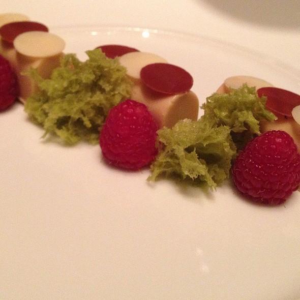 White Chocolate, Pistachio, Raspberry
