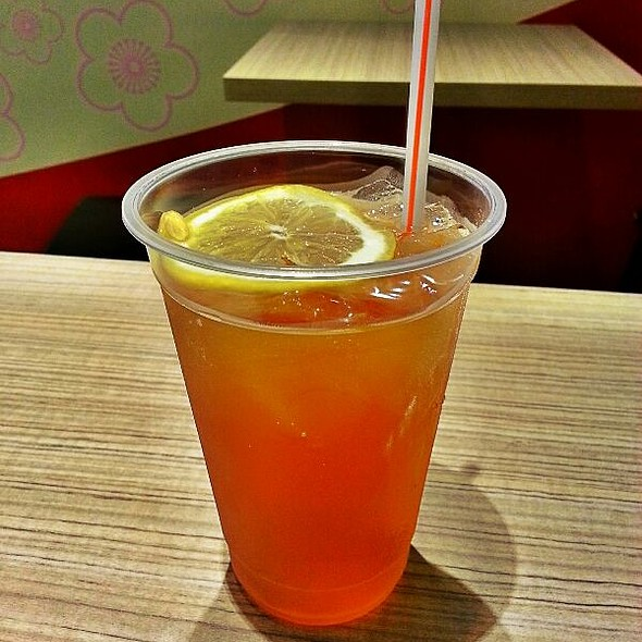 Iced Lemon Melon Tea @ Taste Of Taiwan