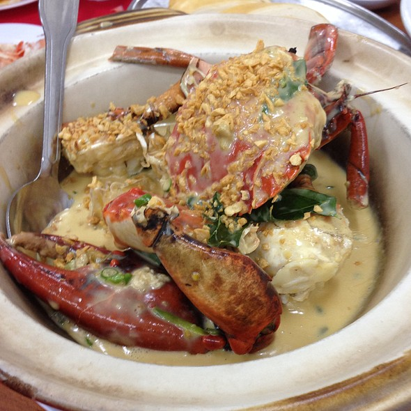 Creamy Butter Crab at Restaurant Super Crabs