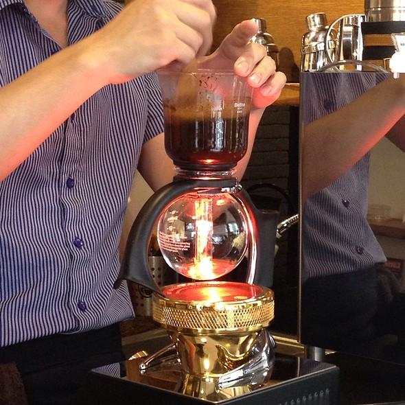 Syphon Coffee @ 咖啡基因