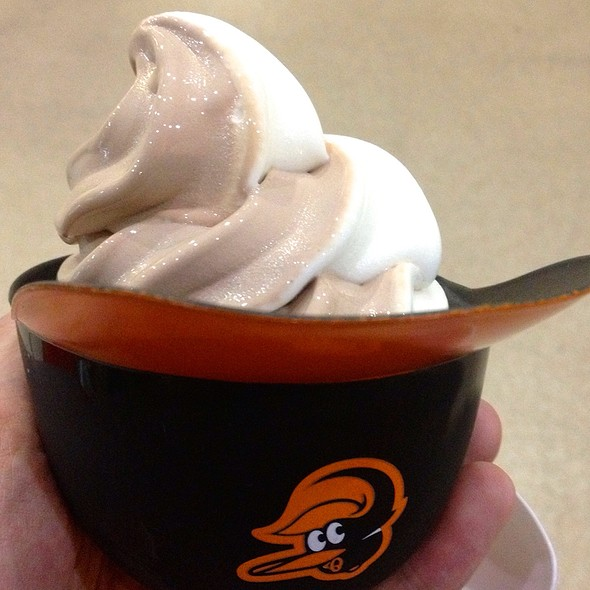 Helmet Cup Ice Cream @ Oriole Park at Camden Yards