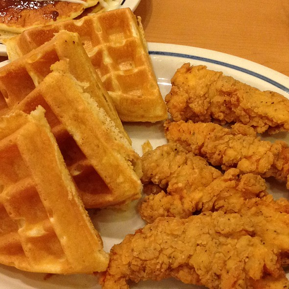 Chicken and Waffles @ Ihop