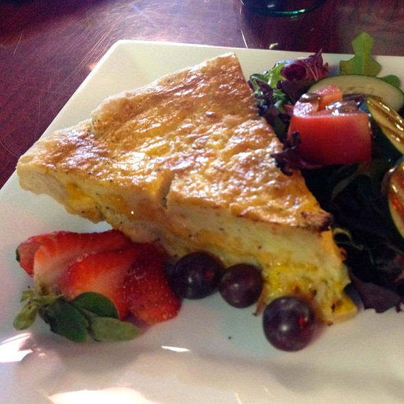 Crab And Cheddar Quiche @ Dangerously Delicious Pies