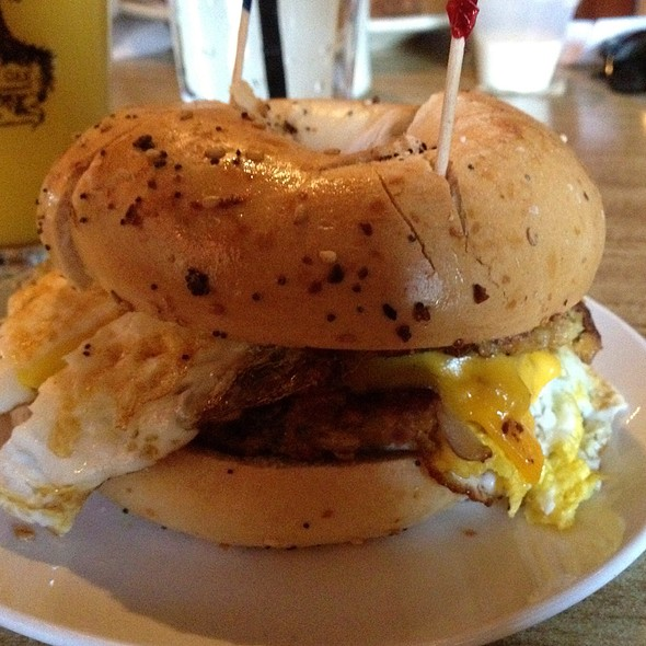 Breakfast Sandwich @ Metropolitan Coffee House
