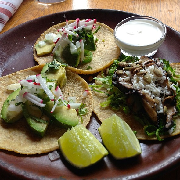 avocado tacos @ De Cero Taqueria