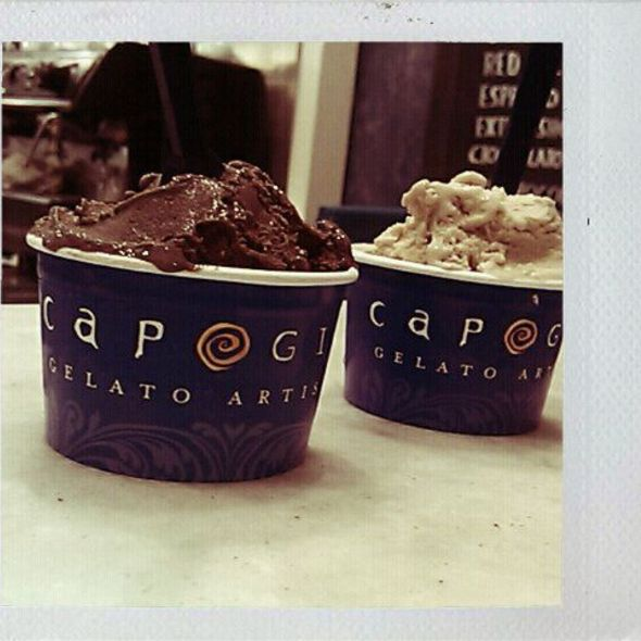Chocolate Gelato @ Capogiro Gelateria
