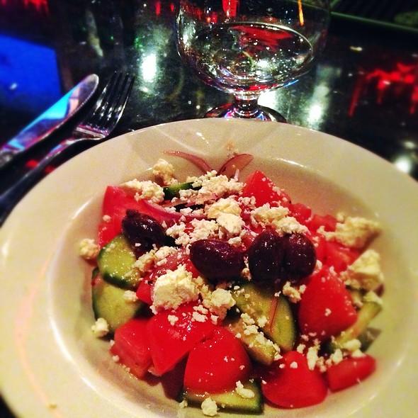 Shopska Salad And Šlivovica - Sarajevo Restaurant & Lounge, Seattle, WA