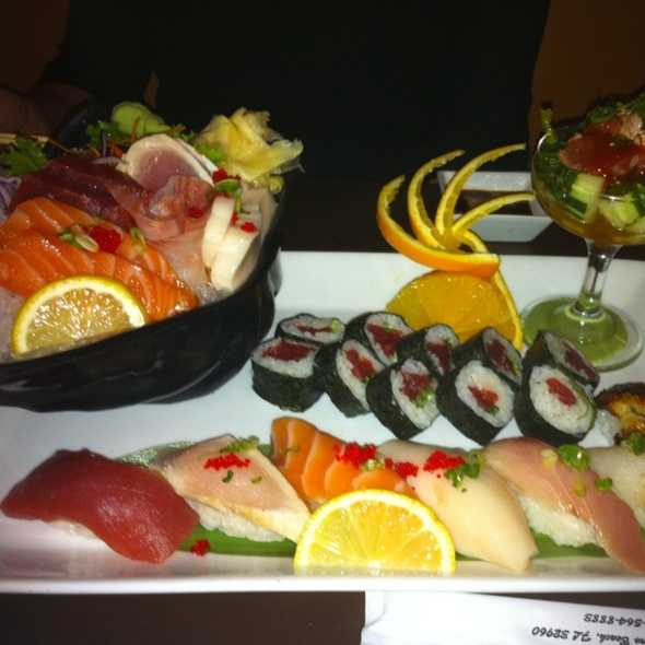 Delicious Sushi! @ Kata By Sake