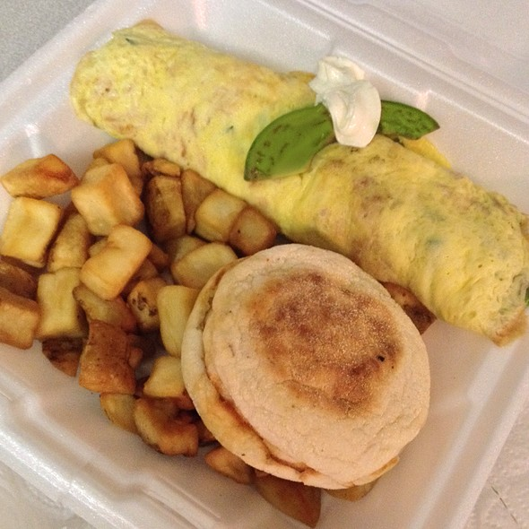 California Roll Omelette