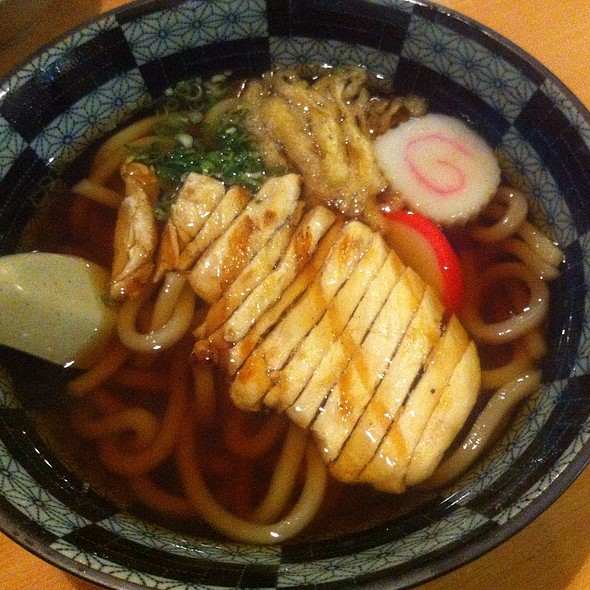 Chicken Udon Soup @ Sachi Japanese Cuisine