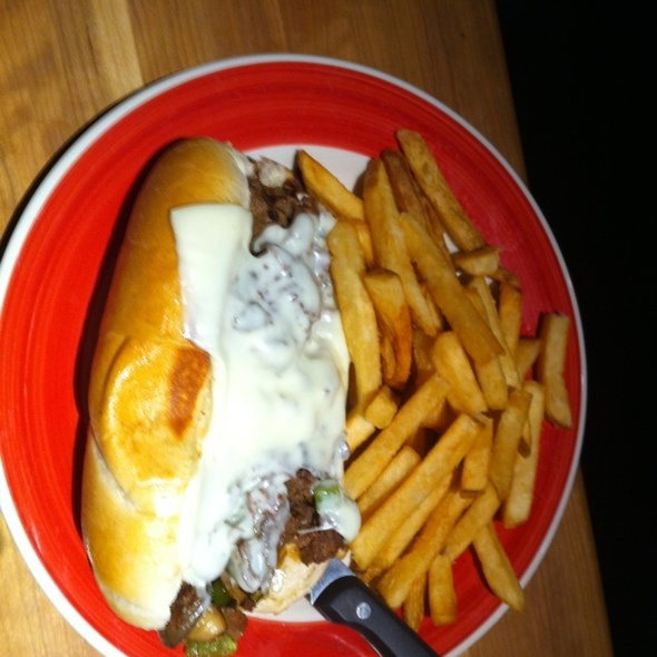 Philly Cheese Steak @ Cheddars