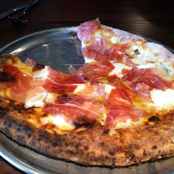 Crudo Pizza @ Pizzeria Vetri