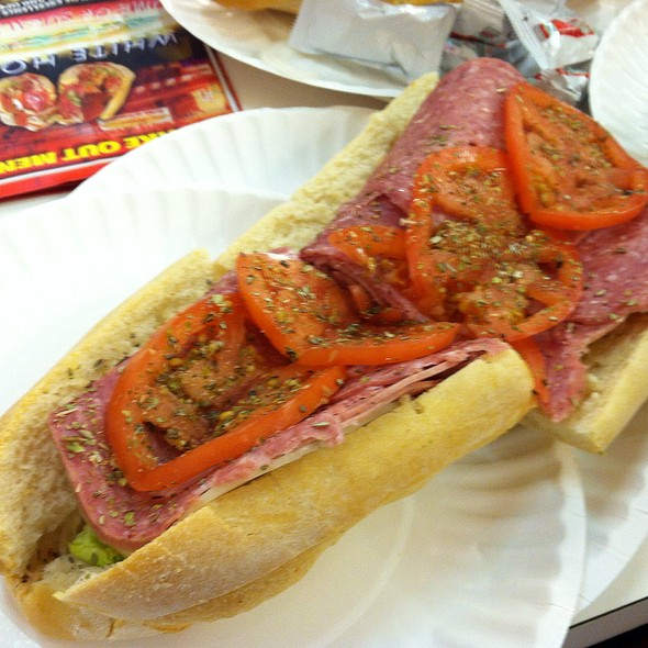 Italian Hoagie @ White House Sub Shop
