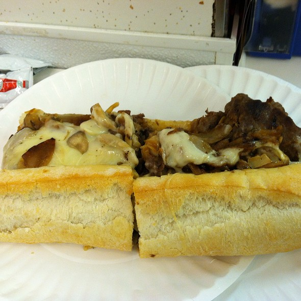 Cheesesteak Sandwich @ White House Sub Shop