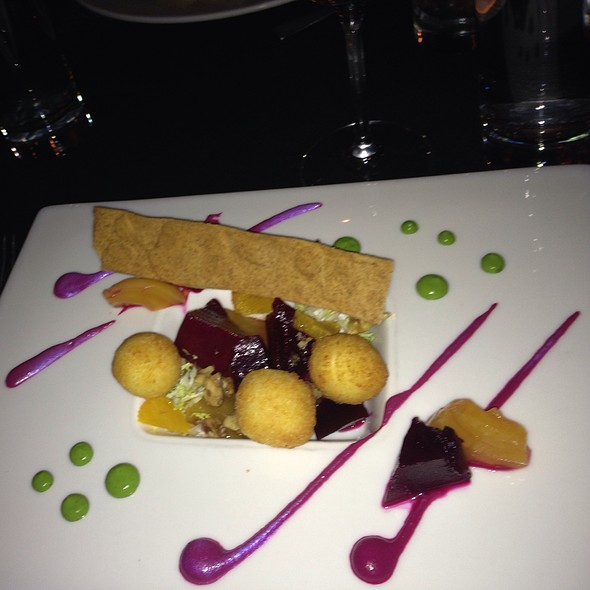 Roasted Beets, Goat Cheese Croquettes - Boka, Chicago, IL