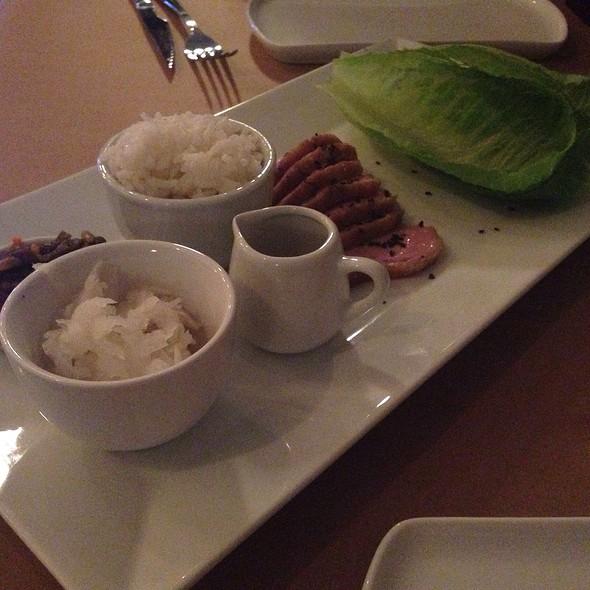 Duck Korean Barbecue With Kimchi And Daikon @ Gallo Negro