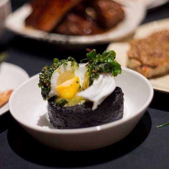 Poached Egg On Stornoway Black Pudding