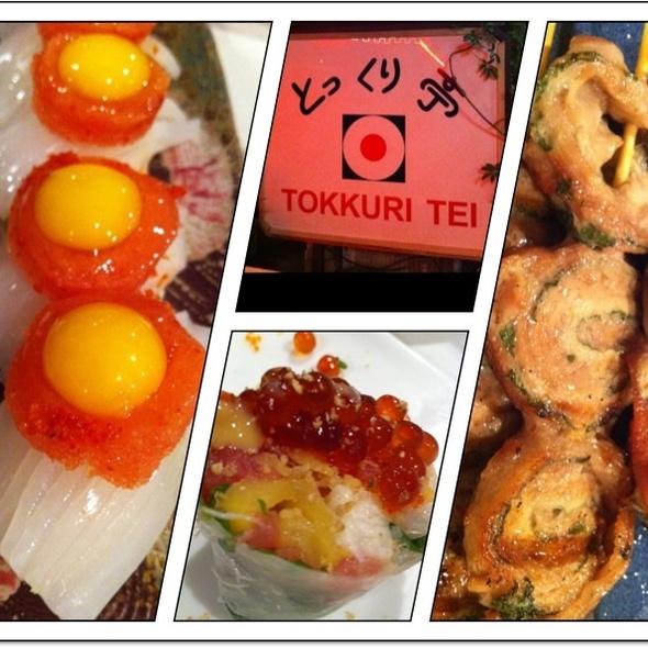 Sushi @ Tokkuri Tei