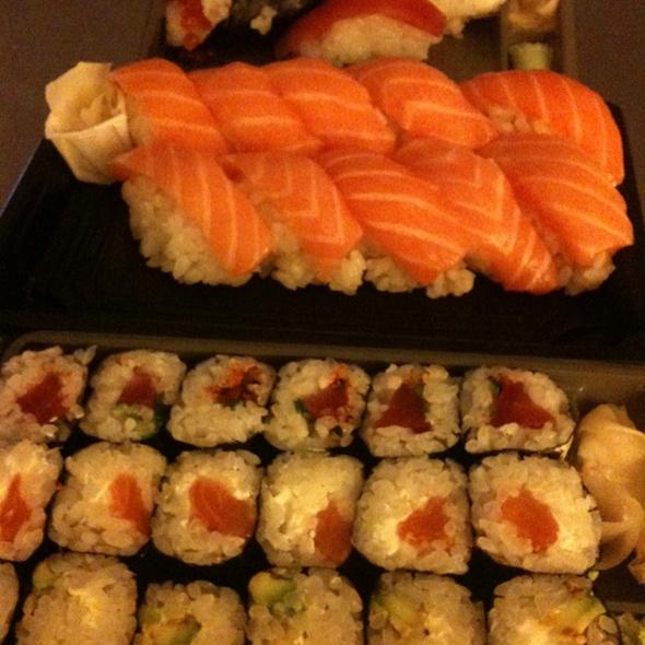 Sushi @ Julien's Home