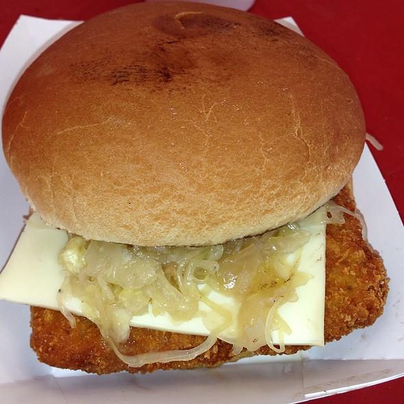 Schnitzel Sandwich @ Oktoberfest