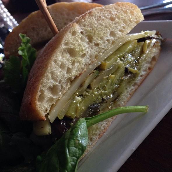 Vegetarian sandwich - Le Papagayo, Encinitas, CA