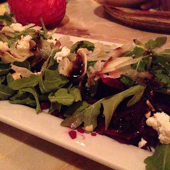 Beets, Dandelion, And Hazelnuts - Lucky's Lounge, Boston, MA