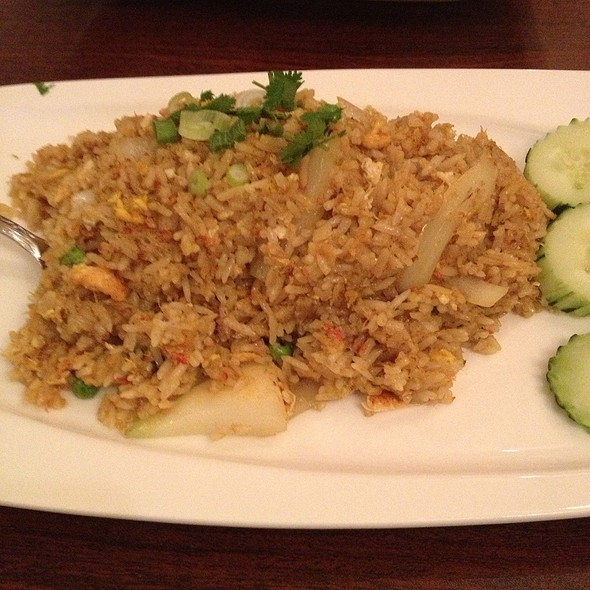 Crab And Yellow Curry Fried Rice