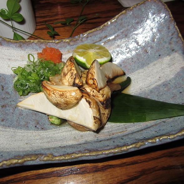 Grilled Matsutake @ Sushi Izakaya Gaku