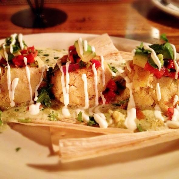 Sweet Corn Tamale Cakes @ Casa Reyna