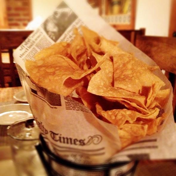 Tortilla Chips @ Casa Reyna
