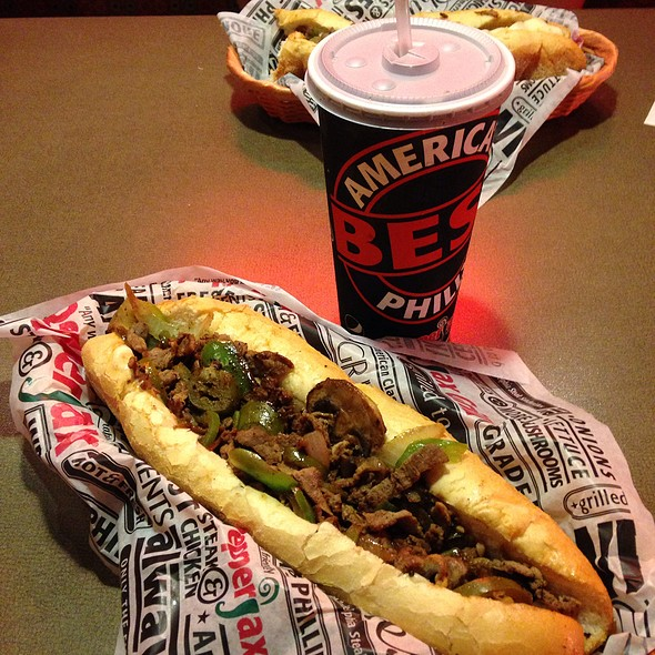 Philly Cheesesteak @ Pepperjax Grill