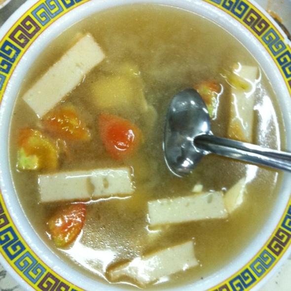 Salted Vege Tofu Soup @ Kedai Makanan Nam Chuan
