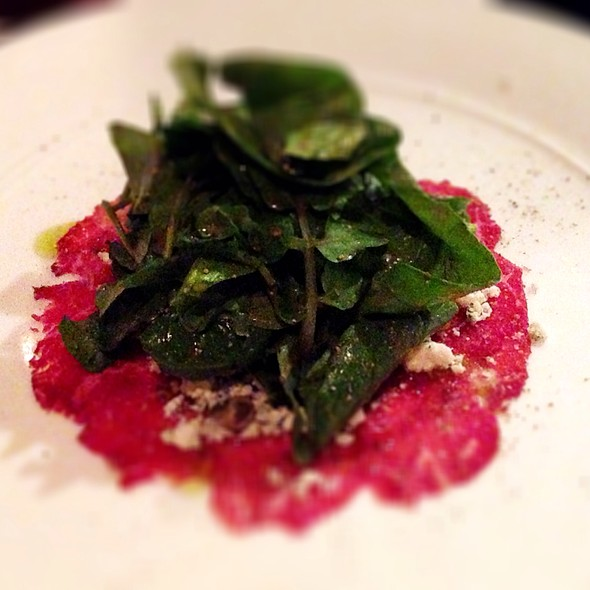 Beef Carpaccio - Sir Winston's Aboard The Queen Mary, Long Beach, CA