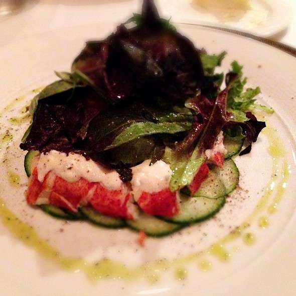 Lobster Salad - Sir Winston's Aboard The Queen Mary, Long Beach, CA
