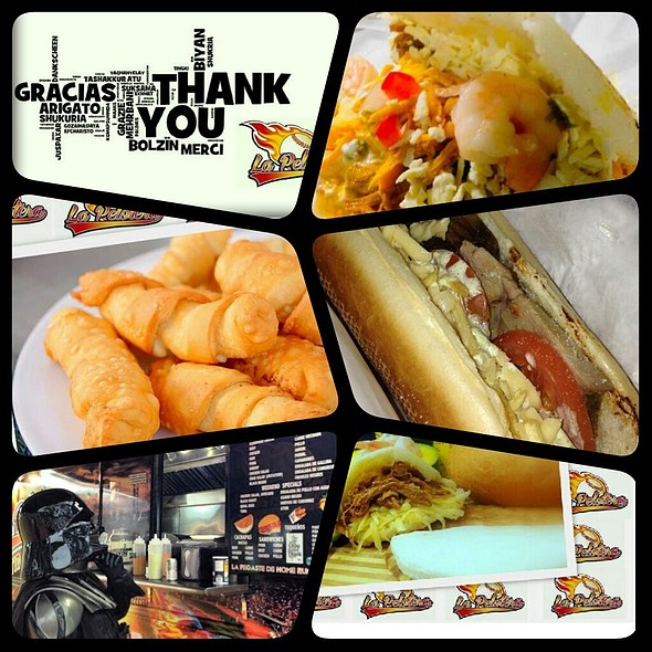 Venezuela arepa and sándwichs @ La Pelotera Food Truck