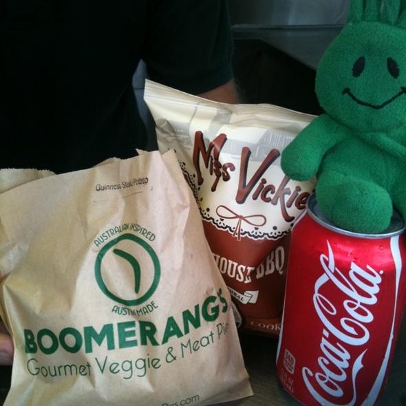 Aussie Combo @ Boomerang's Pies
