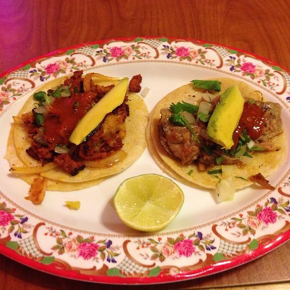 Al Pastor And Adobada Tacos