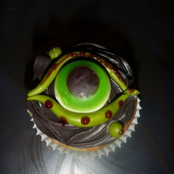 Halloween Cupcake @ The Purple Pastry Chef