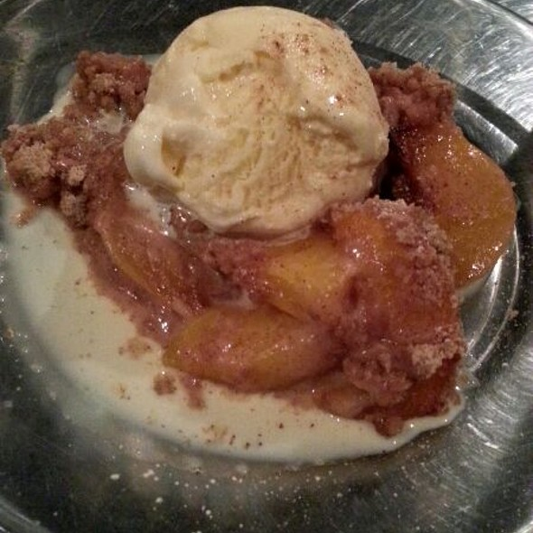 Apple Crisp - Iron Star Urban Barbeque, Oklahoma City, OK