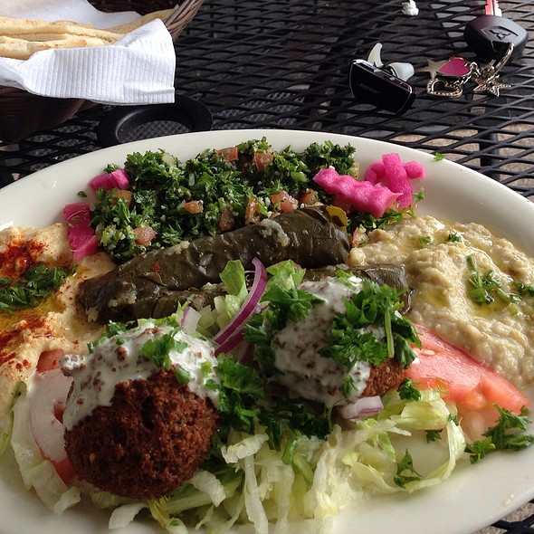 Lunch Special! @ Falafel Cafe