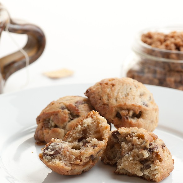 Food on the Fly: Toffee Milk Chocolate Chip Cookie @ Annie the Baker