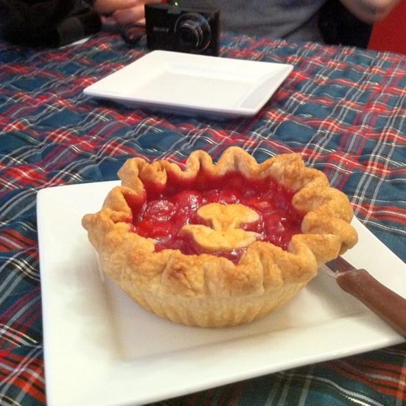 Sour Cherry Pie @ Madeleines, Cherry Pie, And Ice Cream