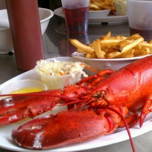 Lobster Dinner @ St Paul Fish Company, Milwaukee Public Market