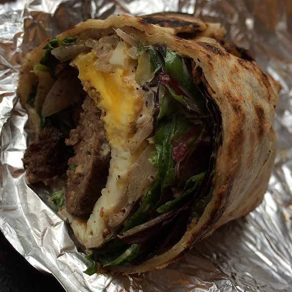 Carnivore's Delight Wrap @ Wolfnights