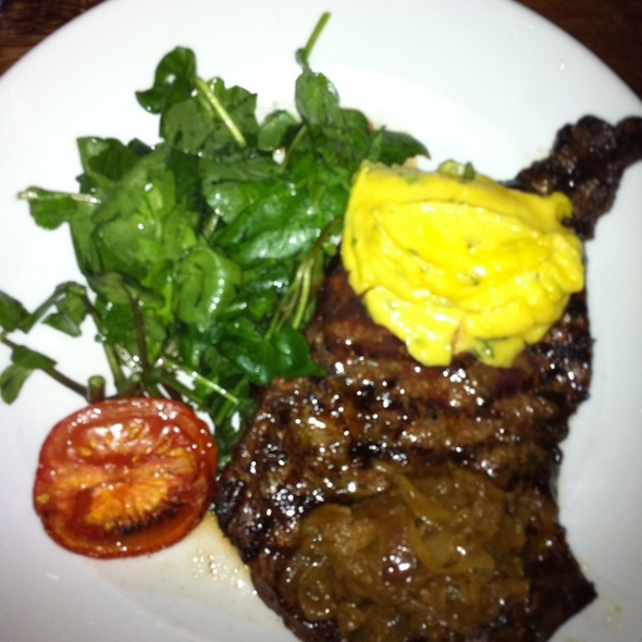 Chargrilled Ribeye Steak With Bearnaise Sauce @ L'Gueuleton