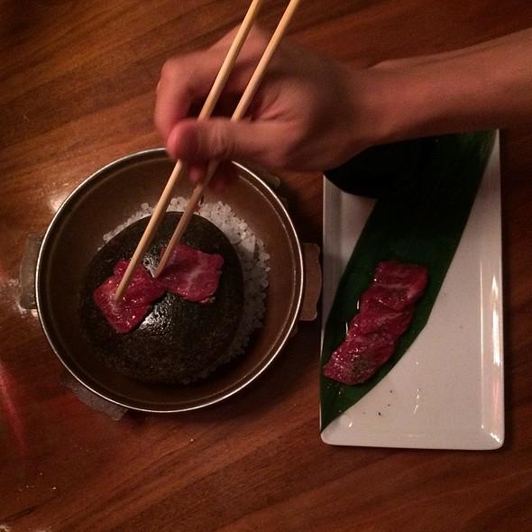 Hot Rock  @ Uchi Restaurant