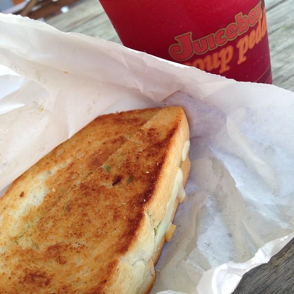 Pesto Grilled Cheese @ Soup Peddler / Juicebox