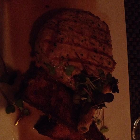 Pork Chop With Crispy Polenta @ Isabella Restaurant