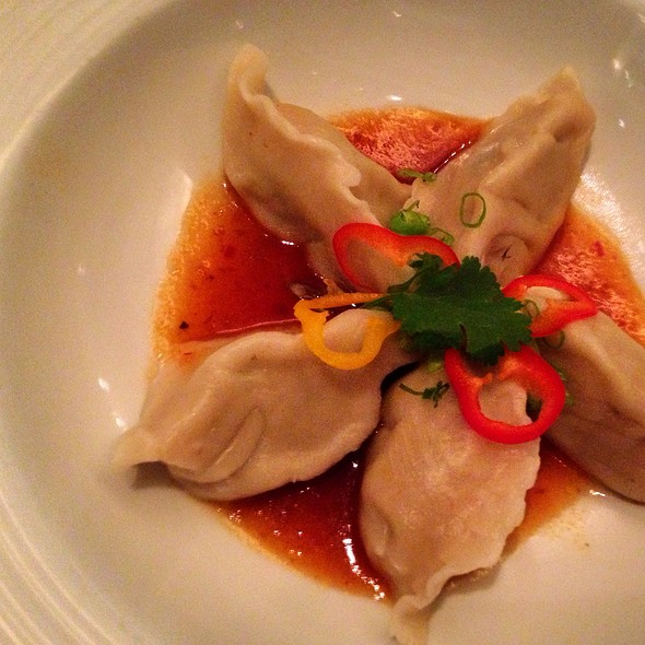 Shrimp Dumplings - Blue Fin - New York, New York, NY